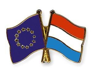 Freundschaftspins Europa-Luxemburg