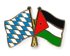 Freundschaftspins Bayern-Jordanien