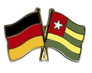 Freundschaftspins Deutschland-Togo