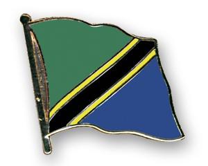 Flaggen-Pins Tansania