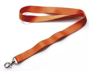 Schlüsselband 20 mm orange