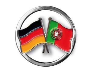 Einkaufswagenchips Deutschland-Portugal