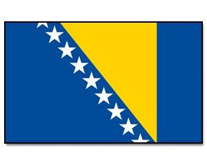 Flagge Bosnien und Herzegowina