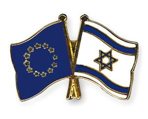 Freundschaftspins Europa-Israel