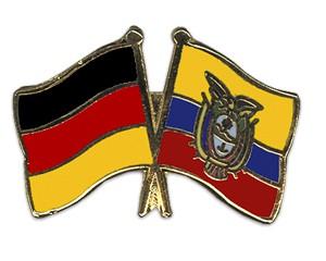 Freundschaftspins Deutschland-Ecuador