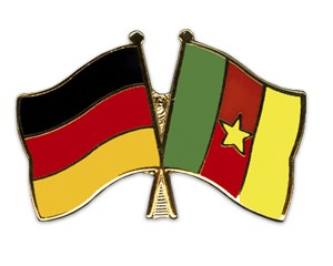 Freundschaftspins Deutschland-Kamerun