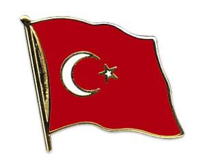 Flaggen-Pins Türkei
