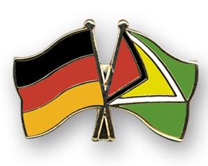Freundschaftspins Deutschland-Guyana