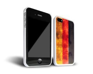 Smartphone-Hülle Deutschland iPhone 4 weiß