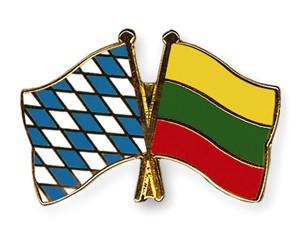 Freundschaftspins Bayern-Litauen