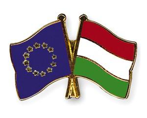 Freundschaftspins Europa-Ungarn