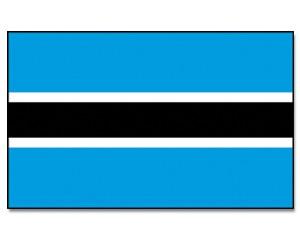 Flagge Botsuana
