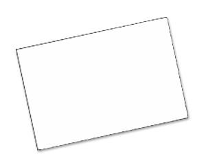 Einlegekarten Weiß