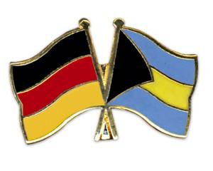Freundschaftspins Deutschland-Bahamas