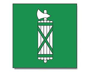 Flagge St. Gallen