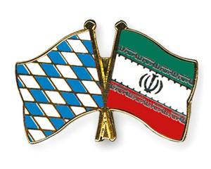 Freundschaftspins Bayern-Iran