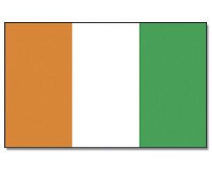 Flagge Côte d'lvoire (Elfenbeinküste)