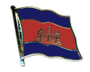 Flaggen-Pins Kambodscha