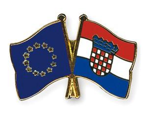 Freundschaftspins Europa-Kroatien