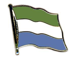 Flaggen-Pins Sierra Leone