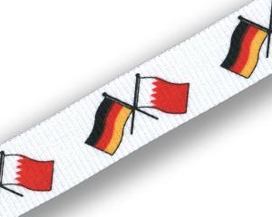 Freundschafts-Schlüsselbänder Deutschland-Bahrain