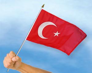 Stock-Flagge Türkei