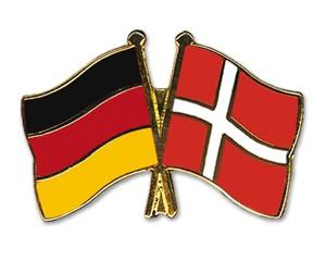 Freundschaftspins Deutschland-Dänemark