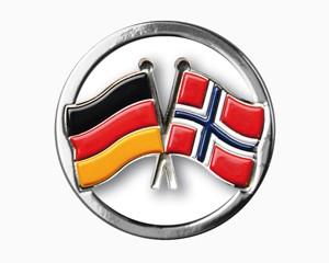 Einkaufswagenchips Deutschland-Norwegen