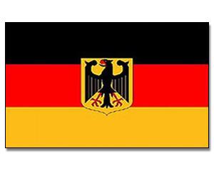 flagge deutschland mit adler 90 x 150 europa flaggen 90 x 150 cm promex shop flaggen und. Black Bedroom Furniture Sets. Home Design Ideas