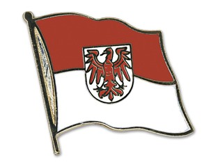 Flaggen-Pins Brandenburg
