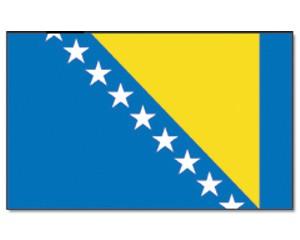 Stock-Flagge Bosnien und Herzegowina