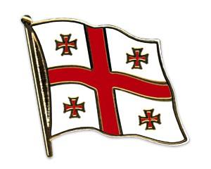 Flaggen-Pins Georgien