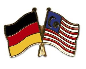 Freundschaftspins Deutschland-Malaysia