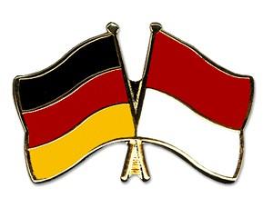 Freundschaftspins Deutschland-Monaco