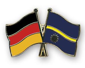 Freundschaftspins Deutschland-Nauru