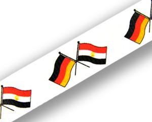 Freundschafts-Schlüsselbänder Deutschland-Ägypten
