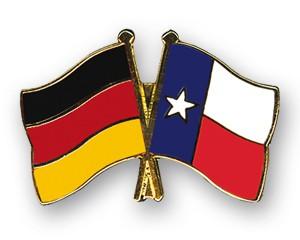 Freundschaftspins Deutschland-Texas