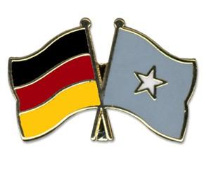 Freundschaftspins Deutschland-Somalia