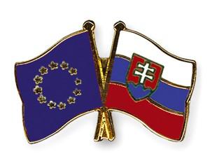 Freundschaftspins Europa-Slowakei