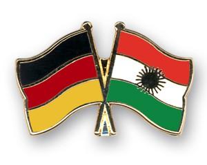 Freundschaftspins Deutschland-Kurdistan
