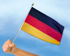 Stock-Flagge Deutschland