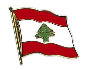 Flaggen-Pins Libanon