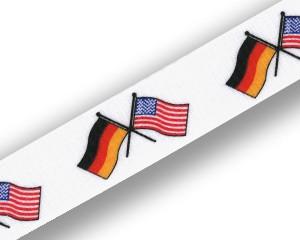 Freundschafts-Schlüsselbänder Deutschland-USA