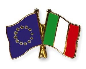 Freundschaftspins Europa-Italien