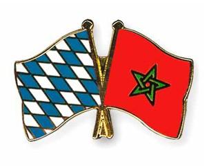 Freundschaftspins Bayern-Marokko