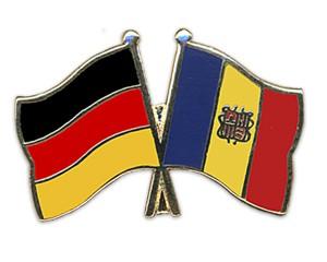 Freundschaftspins Deutschland-Andorra