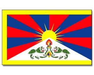 Flagge Tibet