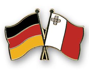 Freundschaftspins Deutschland-Malta