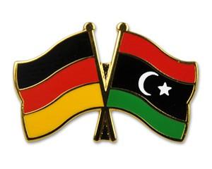 Freundschaftspins Deutschland-Libyen