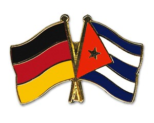 Freundschaftspins Deutschland-Kuba